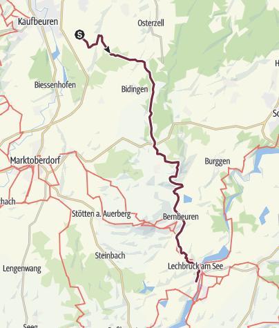 Karte / Lechbruck 1