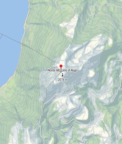 Karte / Rif Chiesa 2059m