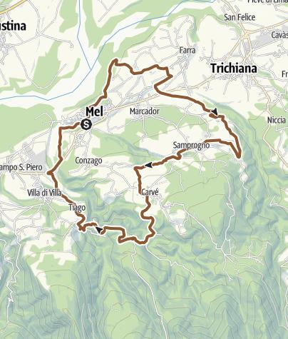 Mappa / Anello zumellese