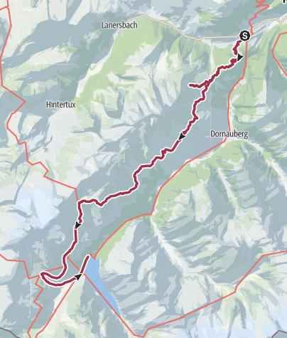 Map / Zillertal trip August 2019