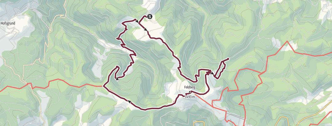 Hartă / Route met definitieve route