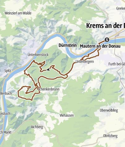 Karte / Seekopf - Hirschwand - Meurersteig - Mühlberg - Hoher Stein- Ferdinandswarte