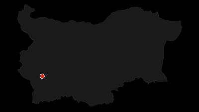 Karte / Rila-Durchquerung