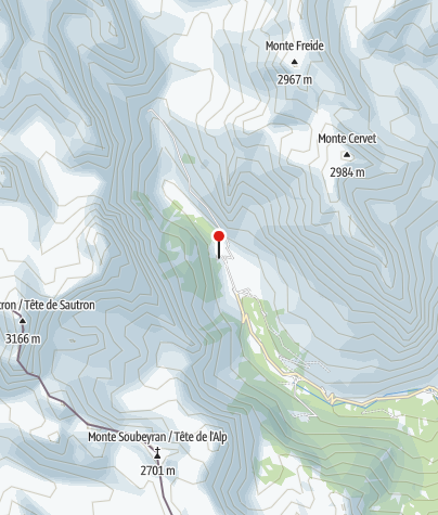 Karte / Rifugio Campo Base