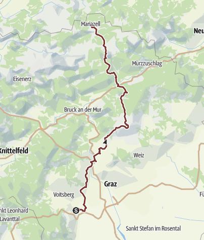 Map / Ligist - Mariazell