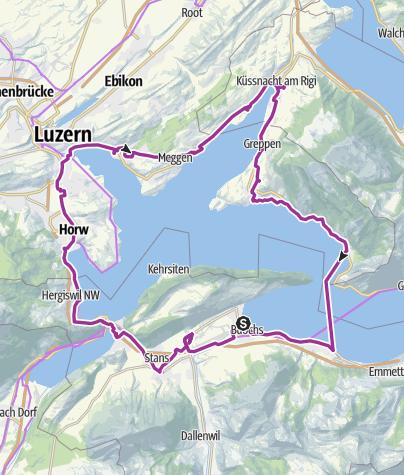 Carte / Randonnée planifiée le 29 juil. 2019 22:19:31