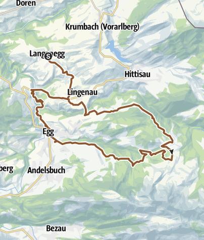 Karte / Rundtour Schetteregg