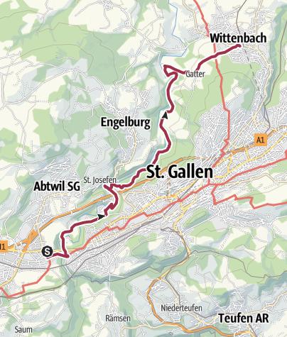 Karte / Sitterstrandweg