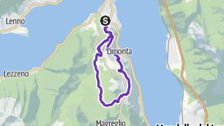 Carte / Boucle des hauteurs de bellagio
