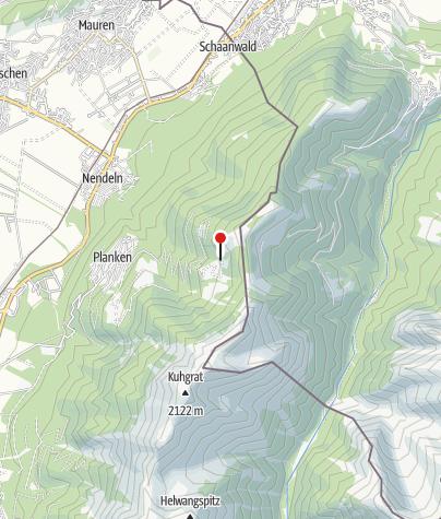 Karte / Gafadurahütte