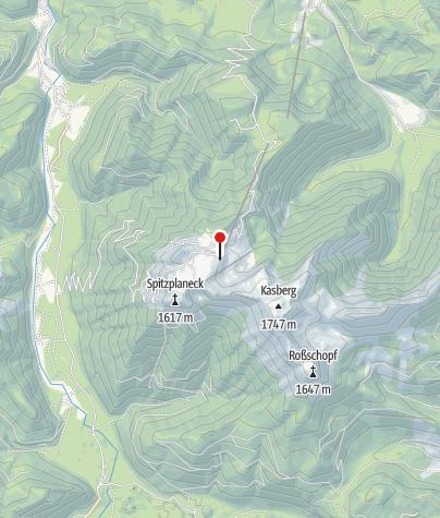 Karte / Sepp-Huber-H. 1506m