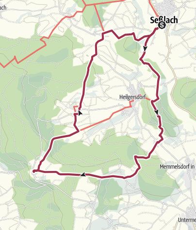 Karte / Wanderung um den Christenstein
