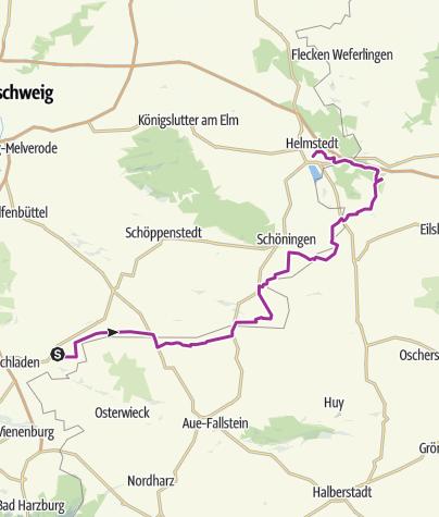 Mapa / Das Grüne Band Teil 15: Von Hornburg bis Helmstedt