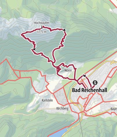 Map / Hochstaufen