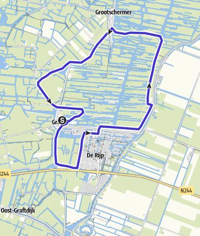 Karte / Der Eilandspolder