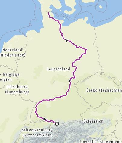Cartina / Enkeltauglich Tour 2019