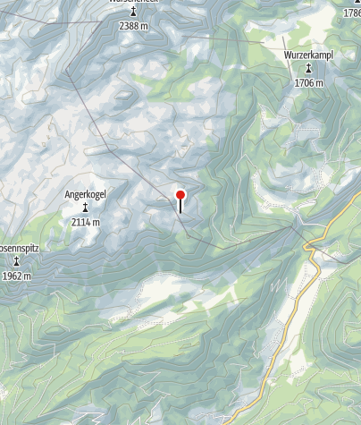 Map / Alblhütte 1700m