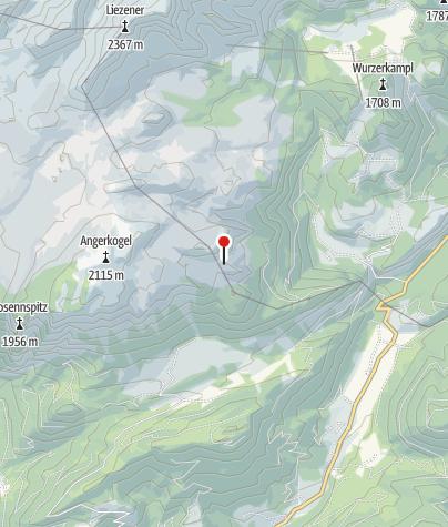 Karte / Alblhütte 1700m