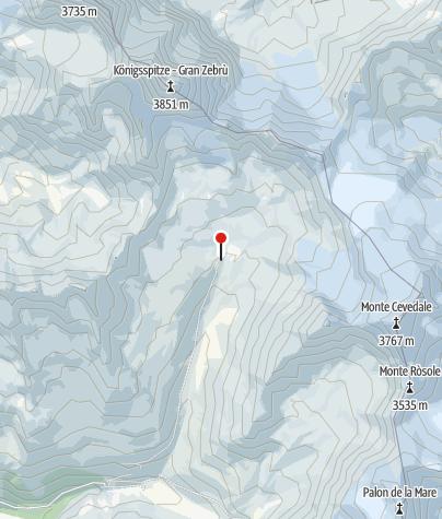 Map / Rifugio Pizzini-Frattola