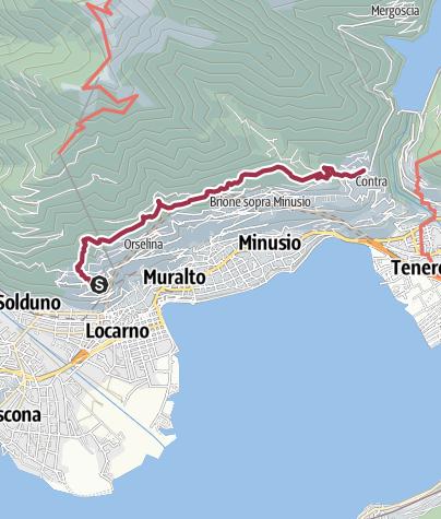 Karte / Höhenwanderung am 15. August 2019 um 11:07