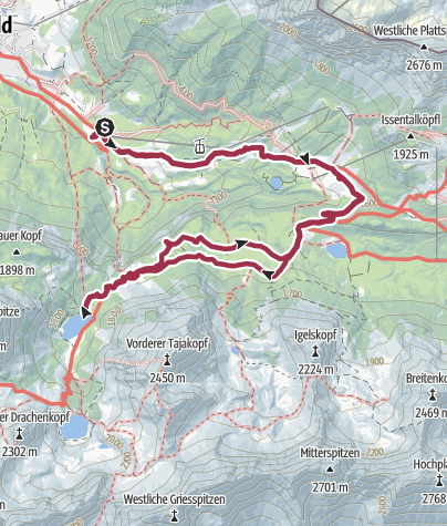Map / Day hike in Ehrwald