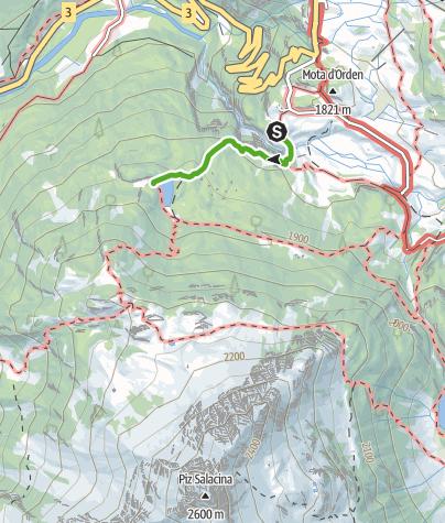 Karte / Schmugglerlehrpfad