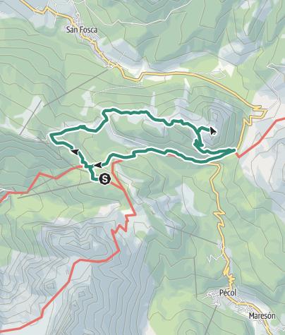 Cartina / A nord della Civetta