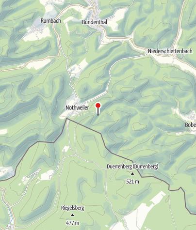 Karte / Eisenerzgrube Nothweiler