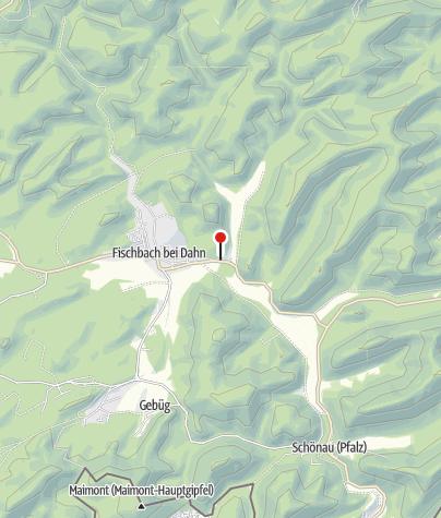 Karte / Biosphärenhaus Pfälzerwald/Nordvogesen