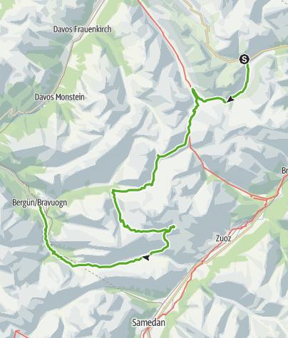 Karte / Kesch-Trek