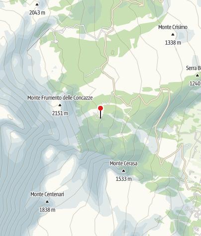 Karte / Rif Citelli 1749m