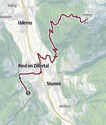 Mapa / senderismo de larga distancia el 26 de agosto de 2019