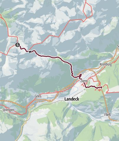 Map / MemmingerHuette-Zams