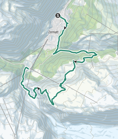 Mappa / Zermatt 2 Day