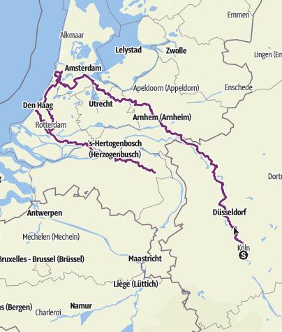 Karte / Radurlaub 2019