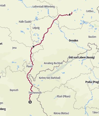 Mappa / Tour aus GPX-Track am 31. August 2019