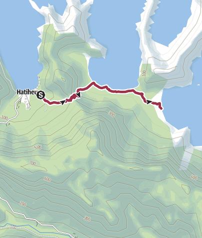 Karte / Anahoe Bay