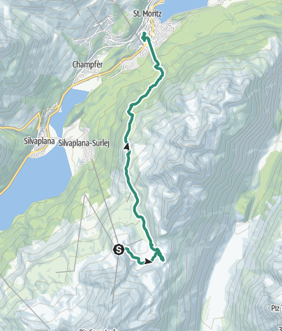 Map / Mountain Hike on 1 September 2019 at 10:15