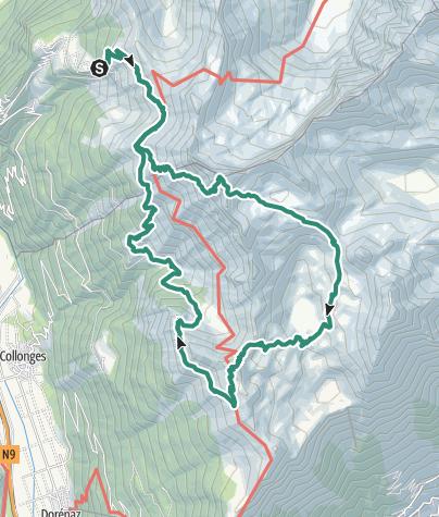 Karte / Rondje vanuit Alp Rionda