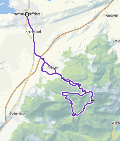 Map / Strecke Bluelandtrail am 12.10.19