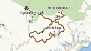 Map / Monte Sacro e Foresta Umbra