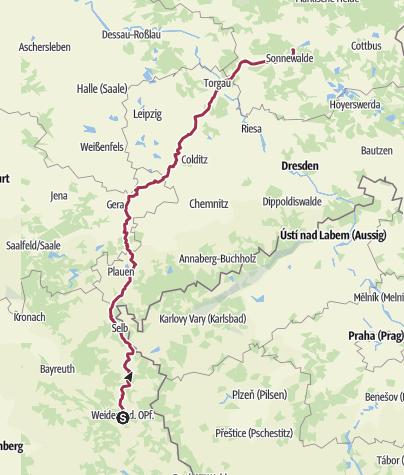 מפה / Tour aus GPX-Track am 5. September 2019