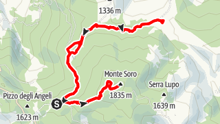 Map / M.Soro und Lago Biviere, Sizilien 6