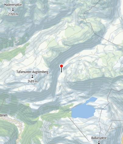 Karte / Verbellaalpe