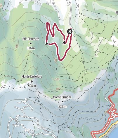 Karte / Rundtour mit 2,9km