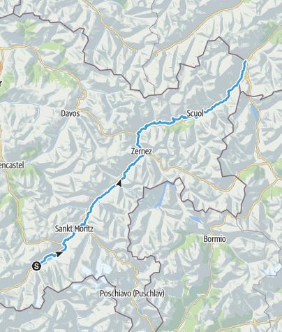 Map / 65 Inn-Radweg