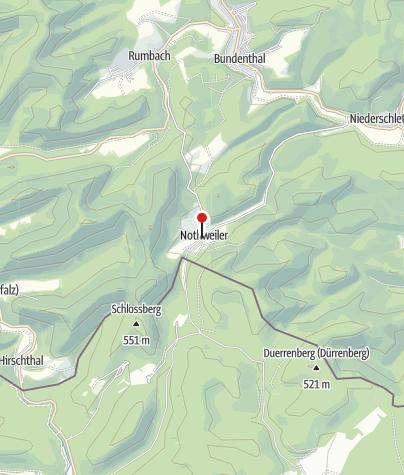Karte / Gasthaus Wegelnburg GmbH