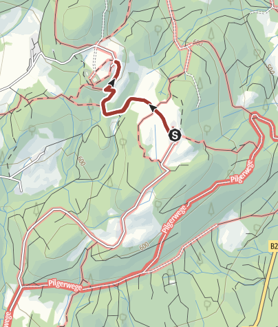 Karte / Pidinger Bienenweg