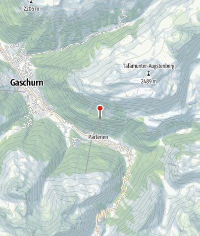 Karte / Tafamunt Bahn