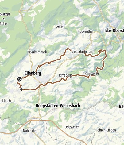 地图 / Buhlenberg 25 Rimsberg-Kronweiler-Oberbrombach-Hußweiler